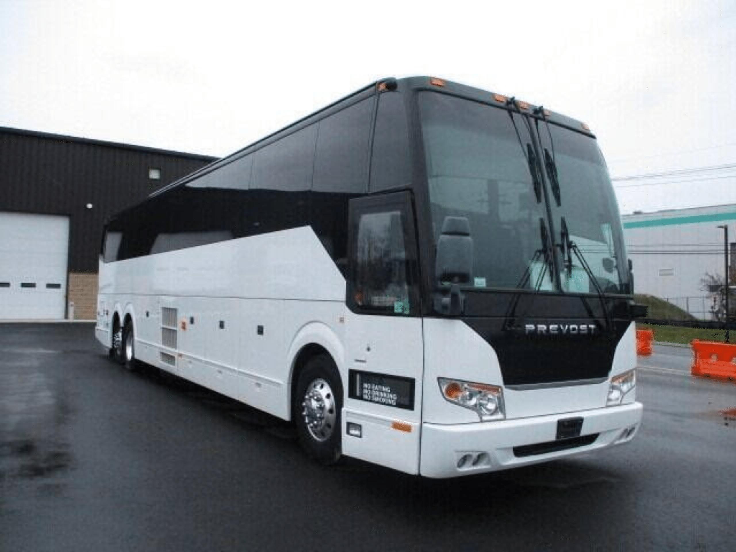 50 Passenger Coach Bus Mirage Limo